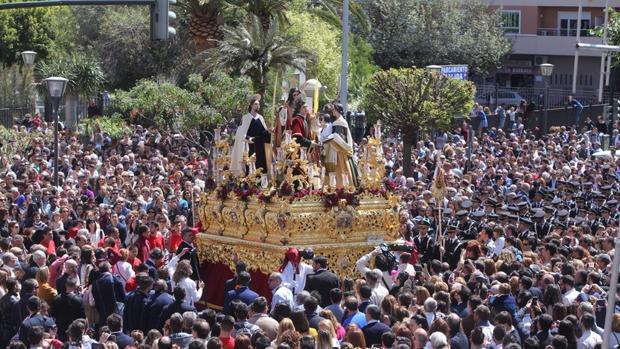 La Borriquita a su salida de San José