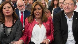 Susana Díaz, en el acto de recuerdo a Carmen Chacón