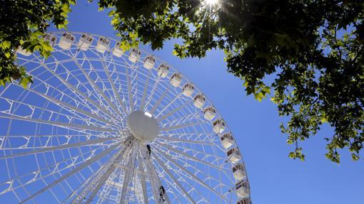 La Noria se ha convertido en un símbolo de la Feria de Córdoba