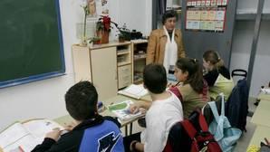 Una clase en un colegio de Córdoba