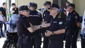 Policías locales durante la Feria de Córdoba