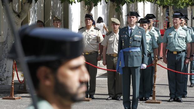 Juan carretero lucena toma el relevo de la comandancia de for Ministerio del interior cordoba
