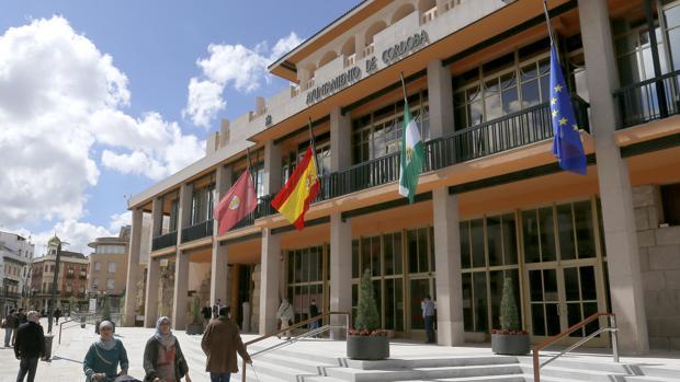 Fachada del Ayuntamiento de Córdoba