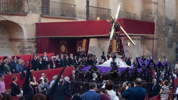 Jesús Nazareno, en la carrera oficial el pasado Jueves Santo