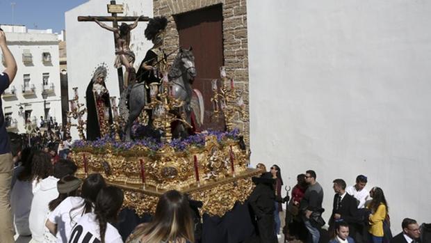El enorme misterio del Cristo de las Aguas, el pasado Miércoles Santo