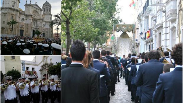 Ecce Mater. Rosario y la Filarmónica Ciudad de Conil, tres formaciones distintas