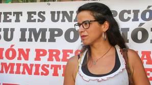 Teresa Rodríguez, coordinadora general de Podemos Andalucía