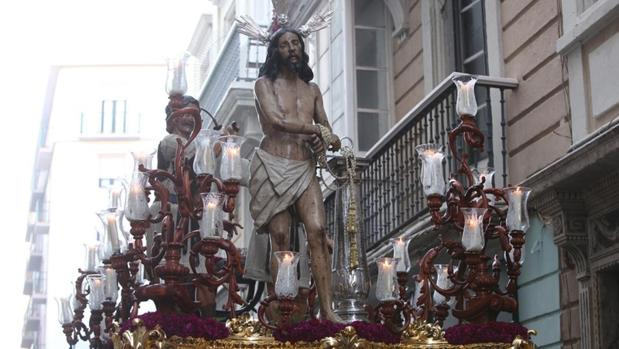El espléndido Señor de Columna, obra de Jacinto Pimentel.