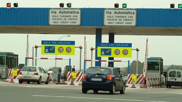 Peaje que une Sevilla y Cádiz