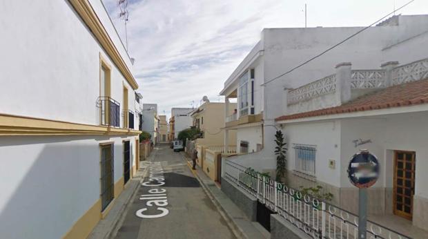 Imagen de la calle donde ha tenido lugar el atropello