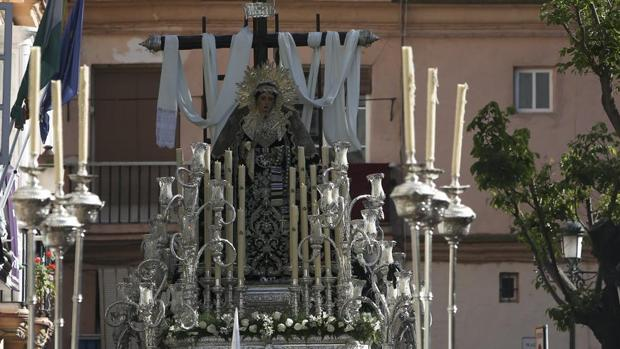 La Virgen de la Soledad procesionará este domingo