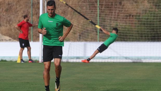 Sergi Guardiola, delantero del Córdoba CF