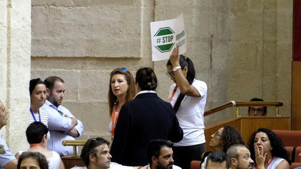 Debate sobre el impuesto de sucesiones en el Parlamento de Andalucía