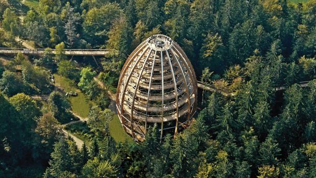 Las instalaciones de la compañía Academia de Aventuras reciben a un millón de visitantes al año