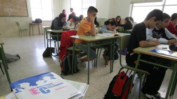 Alumnos de un instituto de Andalucía imparten una clase