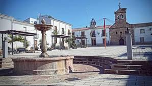 Plaza del pueblo jiennense de Guarromán