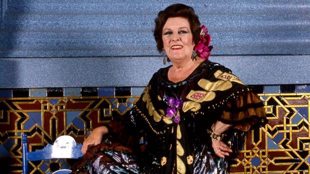 La cantante y actriz, Imperio Argentina