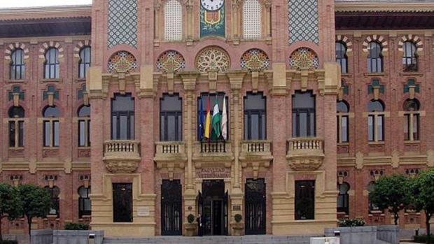 Fachada del rectorado de la Universidad de Córdoba