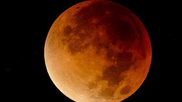 Eclipse de Luna en Hungría