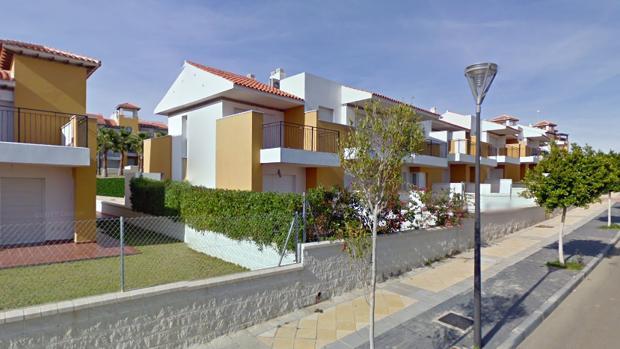 Vista exterior de Las Salinas de Vera