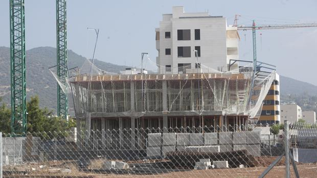 Edificio en construcción en Córdoba -
