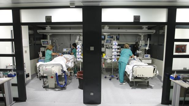 UCI del hospital Reina SOfía de Córdoba