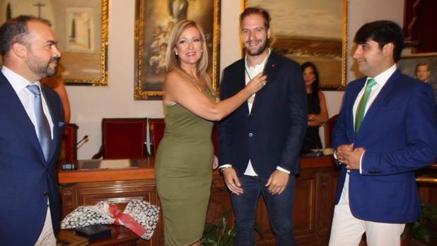 Solano recibe la Medalla de la Ciudad al Mérito Deportivo de Bujalance