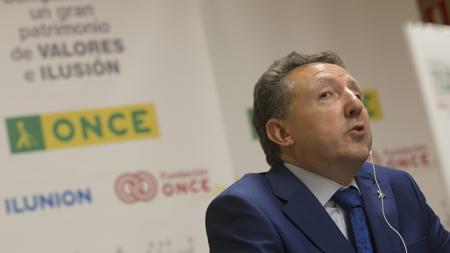 El delegado territorial de ONCE en Andalucía, Cristóbal Martínez