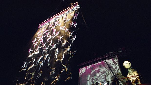 La Furia del Baus lleva su espectáculo al Festival Internacional de Priego