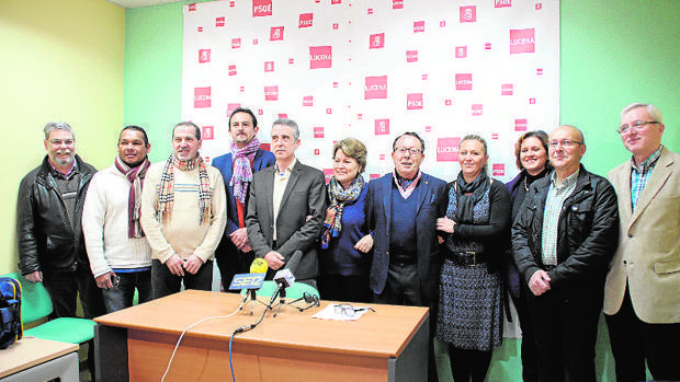 El grupo municipal socialista del municipio cordobés de Lucena