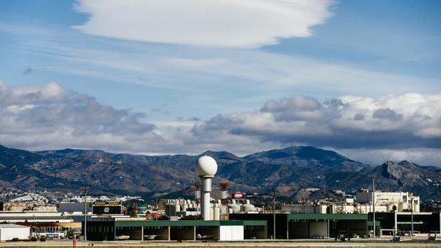 Imagen general del aeropuerto de Málaga
