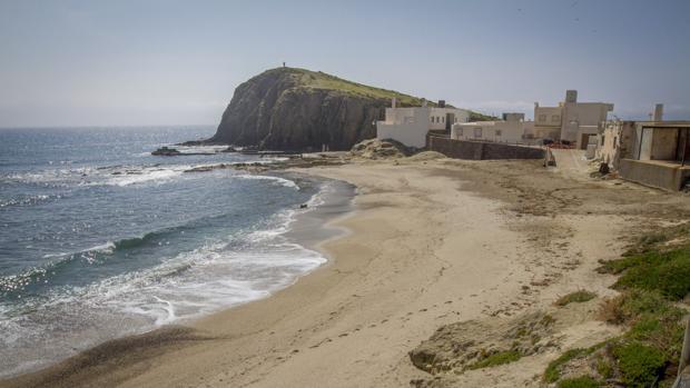 Playa de Isleta del Moro, donde se ha producido el luctuoso suceso