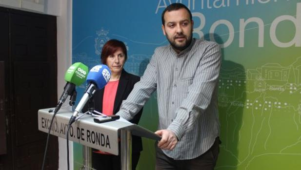 El concejal de Izquierda Unida en Ronda (Málaga), Álvaro Carreño