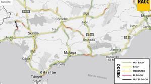 15 de agosto: los puntos negros más peligrosos de las carreteras andaluzas