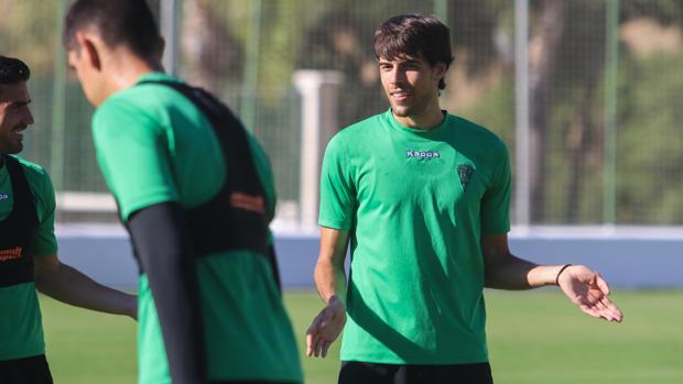 Afonso, en un entrenamiento