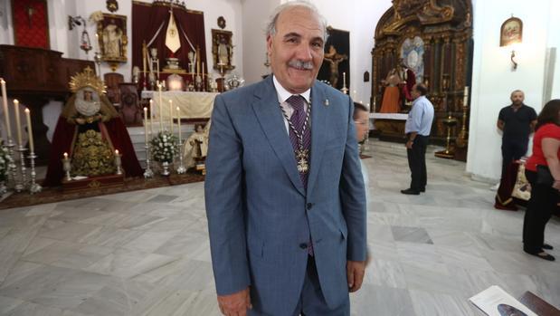 Juan Carlos Jurado, candidato a presidente del Consejo de Hermandades de Cádiz
