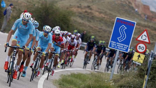 Foto de archivo de la Vuelta Ciclista a España