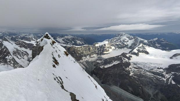 Monte Cervino, en Los Alpes italianos