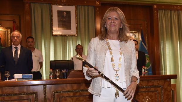 Toma de posesión de la nueva alcaldesa de Marbella, Ángeles Muñoz