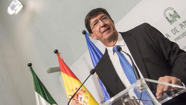 Juan Marín explica su posición tras el encuentro con Susana Díaz