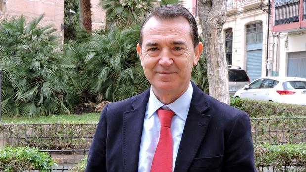 El senador Juan Carlos Pérez Navas
