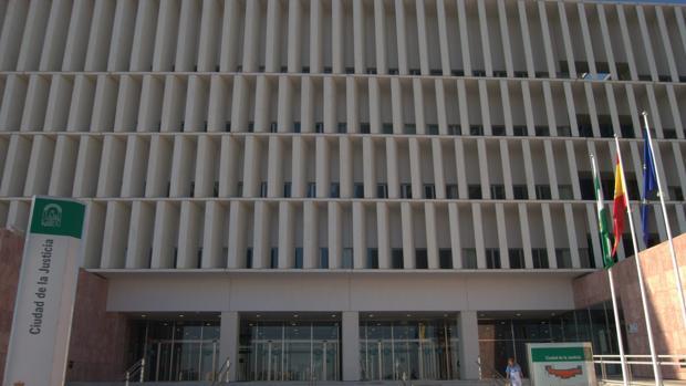 El Palacio de Justicia de Málaga