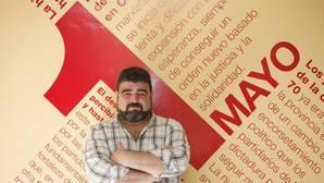 Vicente Palomares, en la sede de UGT en Córdoba