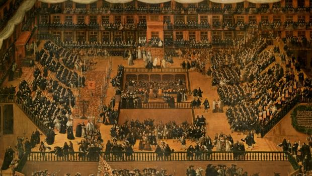 Auto de fe de la Inquisición española