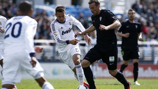 Xisxo, durante el partido ante el Castilla de 2013