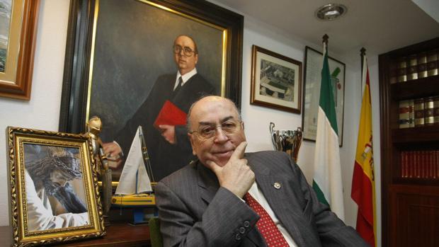 Martín José García Sánchez, en su despacho