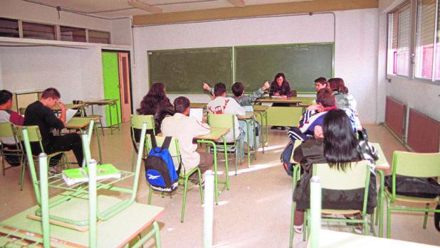 Aula de un instituto