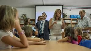 Susana Díaz ha inaugurado el nuevo curso en Alcaudete (Jaén)
