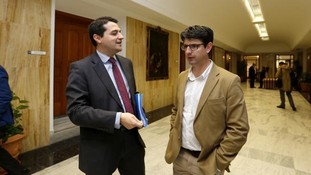 José María Bellido y Pedro García