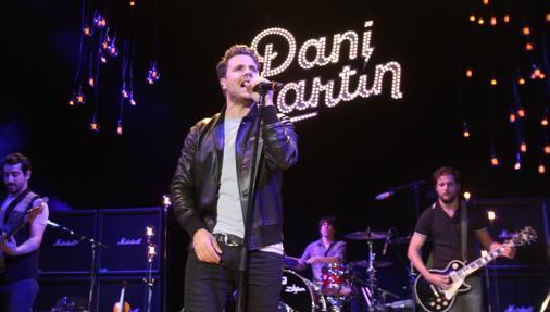 Dani Martín, durante su concierto en La Axerquía en 2014